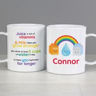 Kids Healthy Eating Plastic Mug