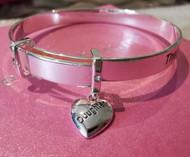 Daughter Charm Bracelet Bangle