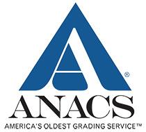 ANACS America's Oldest Grading Service Authorized Dealer