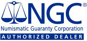 NGC Numismatic Guaranty Corporation Authorized Dealer
