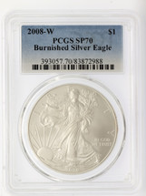 2008-W Burnished ASE SP70 PCGS