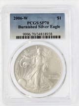2006-W Burnished ASE SP70 PCGS