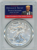 2018 ASE MS70 PCGS First Strike TRUMP label