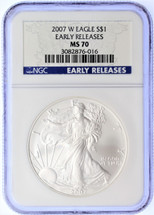 2007 W ASE MS70 NGC Early Releases