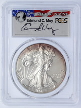 2011-W Burnished Silver Eagle SP70 PCGS Moy