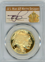 2007-W $50 Proof Gold Buffalo PR70 PCGS Thomas Cleveland Art Deco
