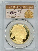 2014-W $50 Proof Gold Buffalo PR70 PCGS Thomas Cleveland Art Deco