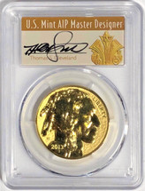 2013-W $50 Rev. Proof Gold Buffalo PR70 PCGS 100th Anniv Thomas Cleveland Art Deco