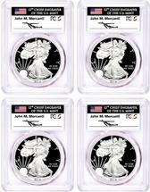 2019-W 4-Coin Congratulatoins set PCGS PR70 FDOI Mercanti D.C, Den, Phil, Fun Show
