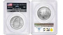 2019-D $.50 Apollo 11 UNC Half Dollar PCGS FDOI MS70 AMF Label