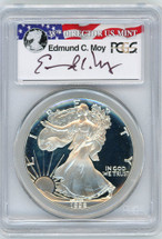 1992-S Proof ASE PR70 PCGS red, white, blue Moy