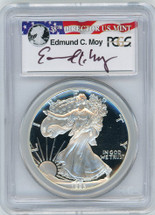 1993-P Proof ASE PR70 PCGS Moy red, white, blue label