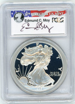 1996-P Proof ASE PR70 PCGS Moy red, white, blue label