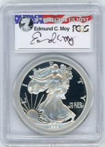 1998-P Proof ASE PR70 PCGS Moy red, white, blue label