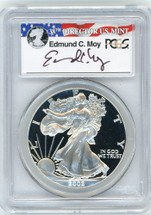 2002-W Proof ASE PR70 PCGS Moy red, white, blue label