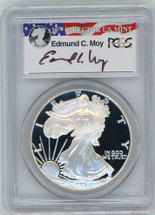 2005-W Proof ASE PR70 PCGS Moy red, white, blue label