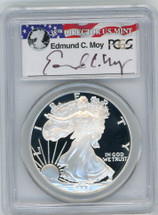 2006-W Proof ASE PR70 PCGS Moy red, white, blue label