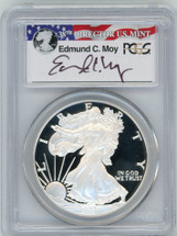 2007-W Proof ASE PR70 PCGS Moy red, white, blue label