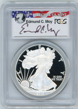 2010-W Proof ASE PR70 PCGS Moy red, white, blue label