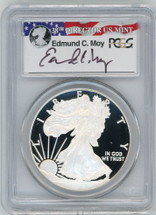 2012-W Proof ASE PR70 PCGS Moy red, white, blue label