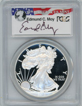 2013-W Proof ASE PR70 PCGS Moy red, white, blue label