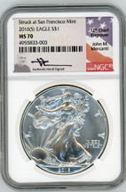 2016(S) ASE MS70 NGC Struck at San Fran Mercanti