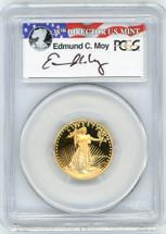 1988-P $10 Proof Gold Eagle PR70 PCGS Moy r/w/b label