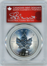 2018 $5 Canada ML/Ag MS70 PCGS First Strike S. Blunt