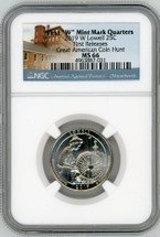 "2019 W Lowell 25C MS66 NGC First ""W"" Mint Mark Quarters First Releases Great American Coin Hunt"