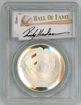 2014-P Proof Legends of Baseball PR70 PCGS Rickey Henderson - OF signature