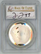 2014-P Proof Legends of Baseball PR70 PCGS Frank Thomas - 1st