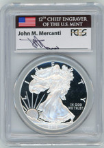 2013-W Proof ASE PR70 PCGS First Strike flag Mercanti