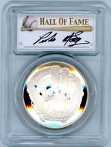 2014-P $1 Silver Baseball Hall of Fame PR69 PCGS Pedro Martinez signature