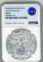 2017 W Burnished ASE MS70 NGC Premier Select Series