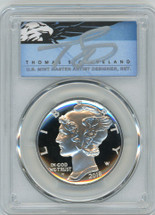 2018-W $25 Proof Palladium PR70 PCGS FDOI T Cleveland Blue Eagle POP 5