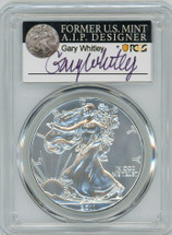2011 ASE MS70 PCGS 25th Anniversary Set Gary Whitley label *POP 25*