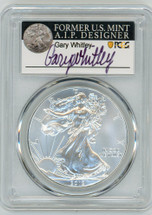 2012 ASE MS70 PCGS Gary Whitley label *POP 25*