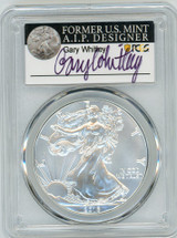 2016 ASE MS70 PCGS 30th Anniversary Gary Whitley label *POP 25*
