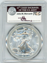 2016 ASE MS70 PCGS 30th Anniversary First Strike Mercanti ASE label