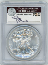 2012-(S) ASE MS70 PCGS Struck at San Francisco First Strike Mercanti ASE label