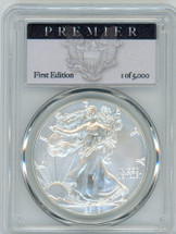 2016-W Burn ASE SP70 PCGS 30th Anniv Lettered Edge Premier First Edition 1 of 5,000