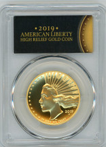 2019-W $100 Gold Liberty High Relief Enhanced SP70PL PCGS First Strike