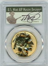 2013-W Rev. Proof $50 Gold Buffalo PR70 PCGS 100th Anniv. First Strike T. Cleveland Minuteman