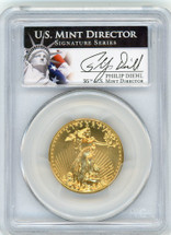 2013 $25 Gold Eagle MS70 PCGS US Mint Director Signature Series P. Diehl