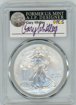 2008-W Rev. '07 Burnished ASE SP70 PCGS Gary Whitley