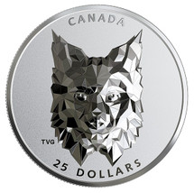 2020 $25 Canada Silver Multifaceted Lynx Proof