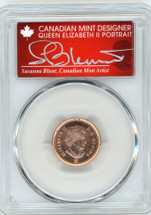 2012 1C Copper Plated Zinc UNC PCGS Farewell - Adieu 1 of the last 1,000,000 1c from the RCM S. Blunt