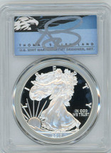 2017-S Proof ASE PR70 PCGS Congratulations Set First Strike T. Cleveland blue eagle