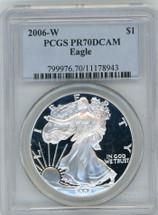 2006-W Proof ASE PR70 PCGS blue label