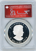 2013 $8 Silver Canada Polar Bear PR70 PCGS S. Blunt